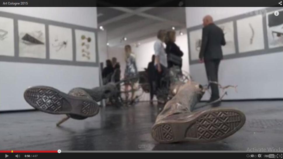 ویدئوی Art Cologne 2015