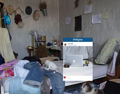 اینستاگرام و دستکاری دنیای پیرامون / گزارش تصویری