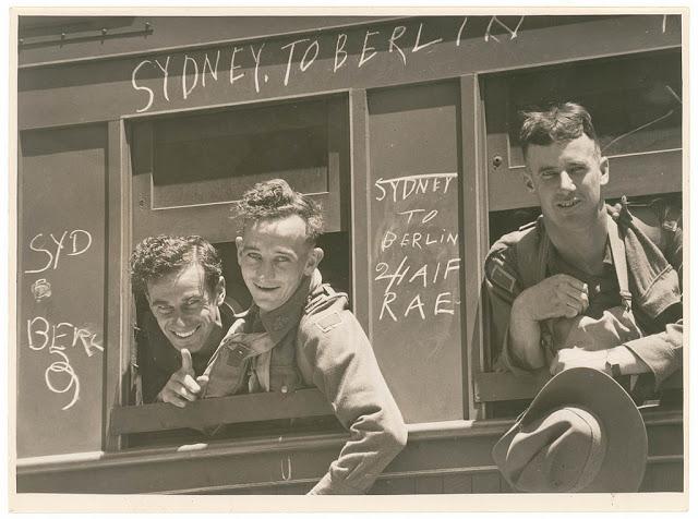 عکسهای کمتر دیده شده از زندگی در طول جنگ جهانی دوم
