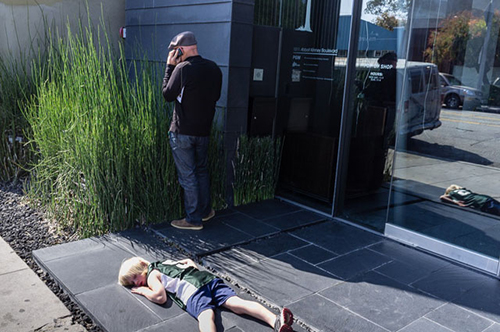 عکسهای خیابانی جک سیمون؛ روانپزشکِ عکاس