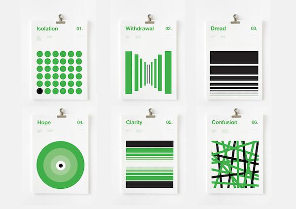 پوسترهای مینیمالیستی از نیک بارکلی / گرافیک رفتارشناسی