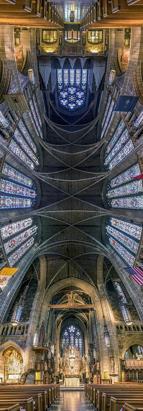 تصاویر پانوراما از کلیساهای نیویورک