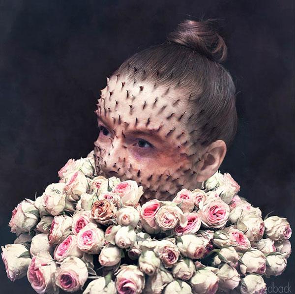 منتخبی از مجموعه عکس های سوررئال کال ردبک ؛ تلفیق شاعرانه ی طبیعت و فردیت / گزارش تصویری
