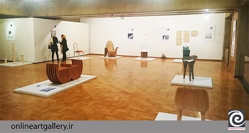 گزارش تصویری نمایشگاه گروهی صندلی های سه نسل از معماران معاصر ایران در فرهنگسرای نیاوران(10 مهر94)
