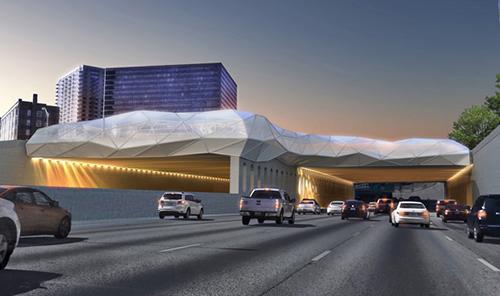 طراحی پارامتریک پل Skyscape در شهر آتلانتا