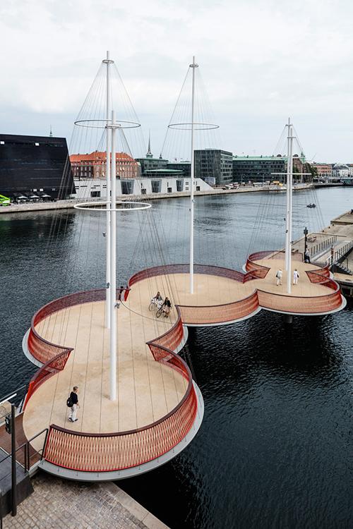 طراحی پل برای عابرین پیاده در کوپنهاگ دانمارک