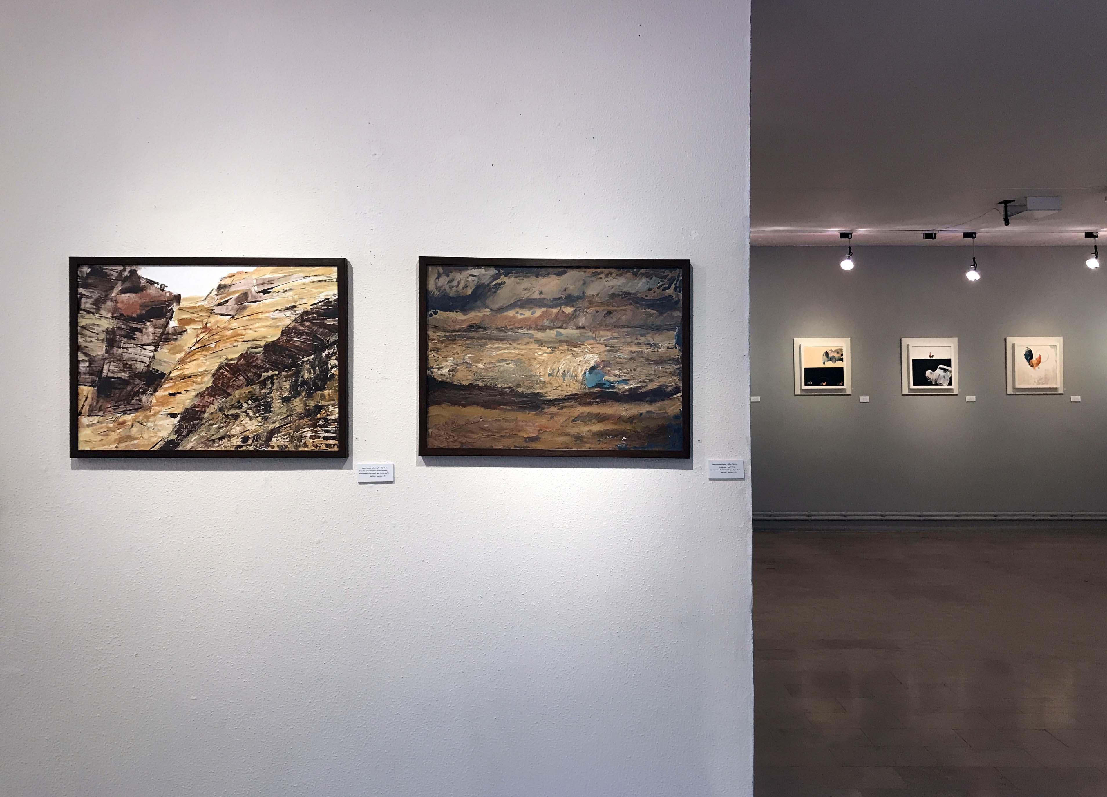 """گزارش تصویری نمایشگاه گروهی """"طبیعت از 9 نگاه"""" در گالری لاله"""