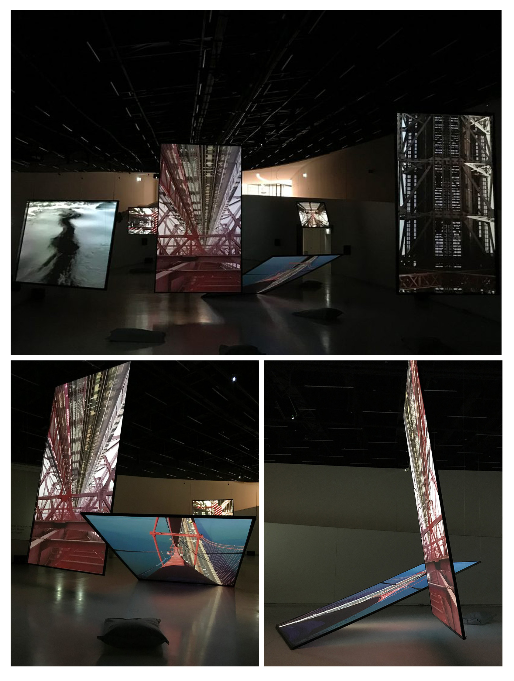 نمایشگاه صدای سایه ها در موزه MAAT پرتغال