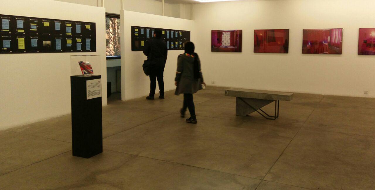 """گزارش تصویری نمایشگاه """"اینجا من دو اسم دارم"""" در گالری راه ابریشم"""