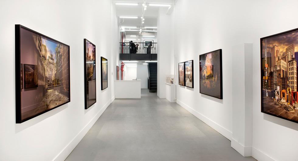 گزارش تصویری نمایشگاه انفرادی لوری نیکس در نیویورک