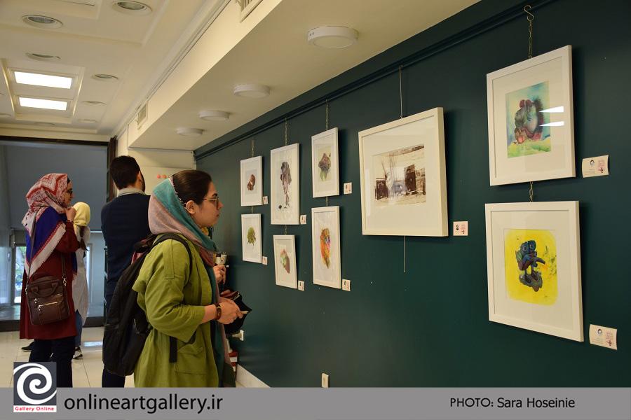گزارش تصویری نمایشگاه فنون تصویرسازی در پردیس هنرهای زیبا دانشگاه تهران