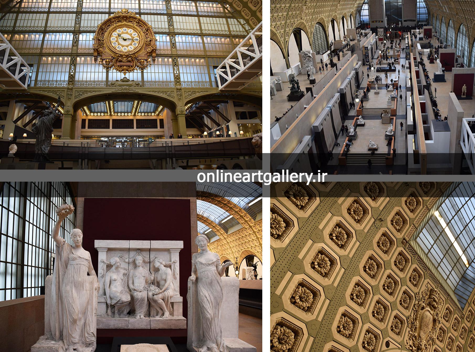 گزارش تصویری مجسمه های موزه اورسی پاریس(بخش هفتم)