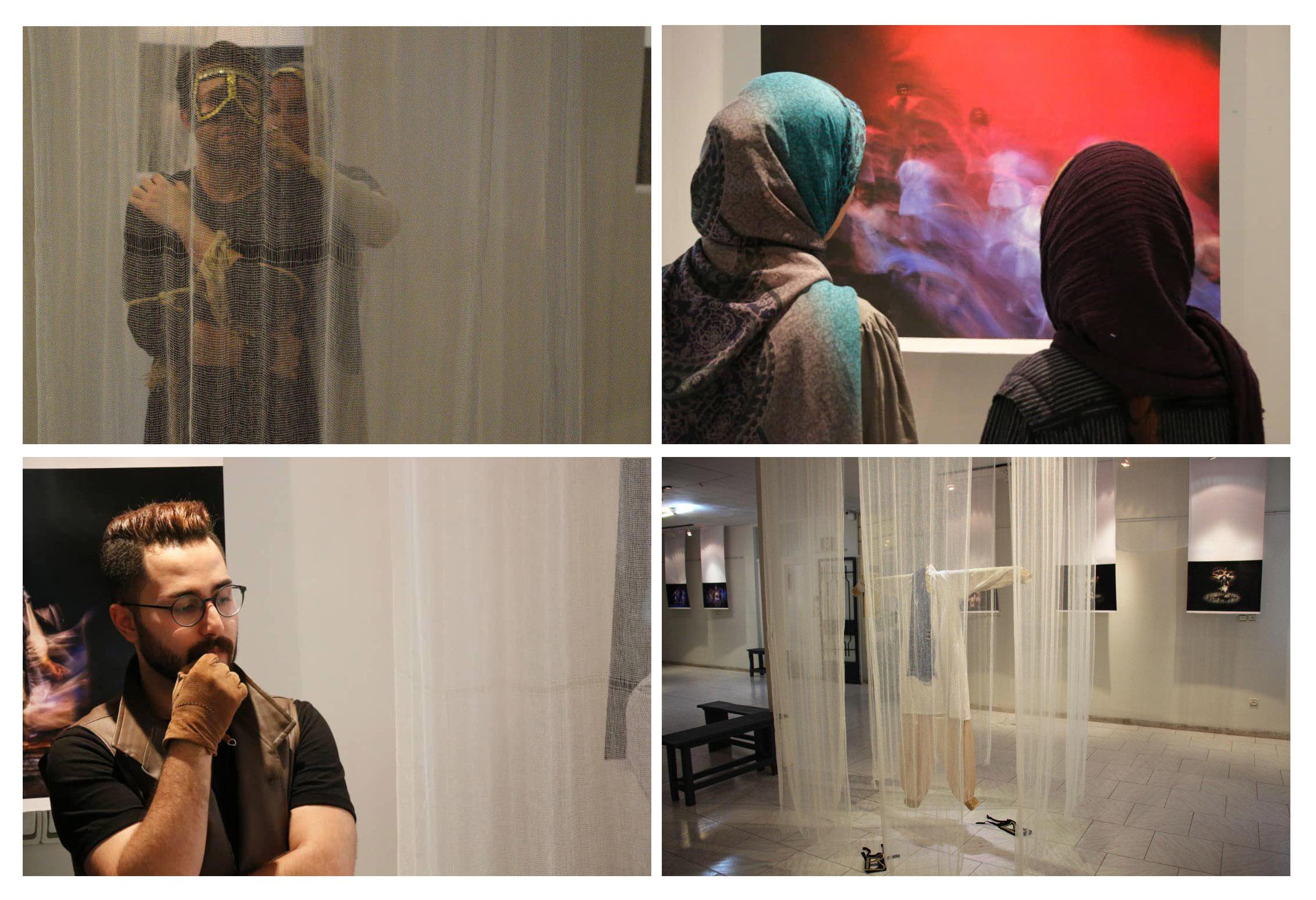 """گزارش تصویری نمایشگاه """"سایه ها اینگونه میخوانند..."""" در گالری زرنا"""