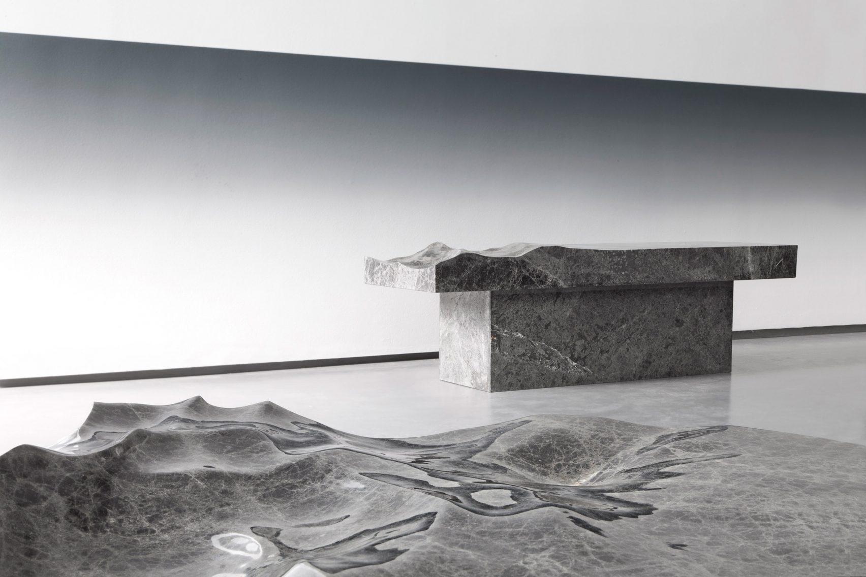 """اقیانوسی از مبلمان های مرمری در مجموعه """"خاطرات اقیانوس"""""""