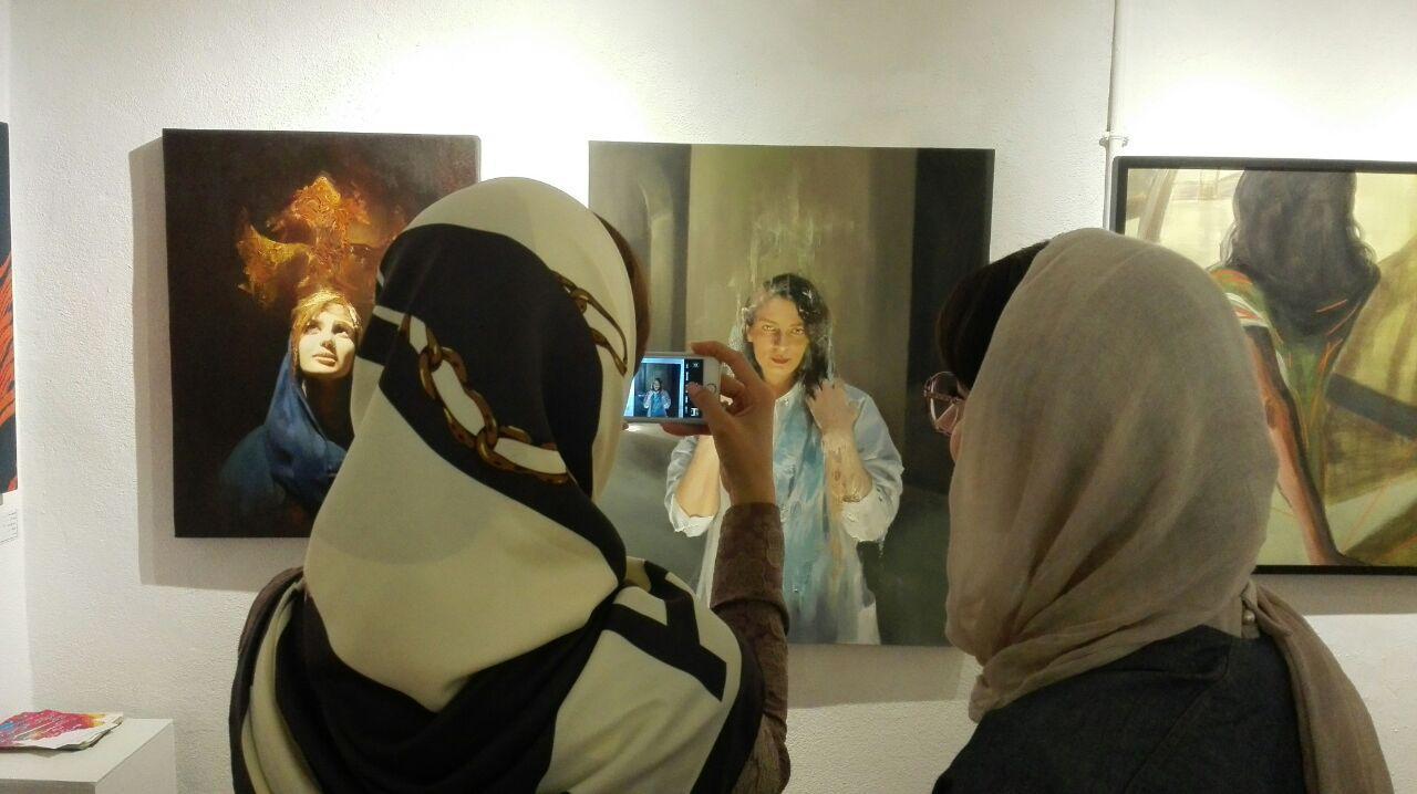 """گزارش تصویری نمایشگاه """"مکاشفه"""" در گالری شیث"""