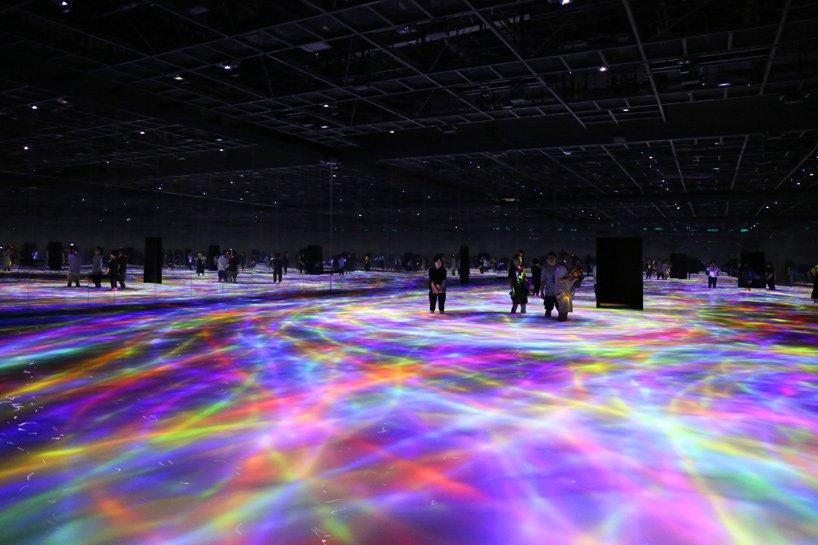 گزارش تصویری از نمایشگاه آثار دیجیتال teamlab در توکیو