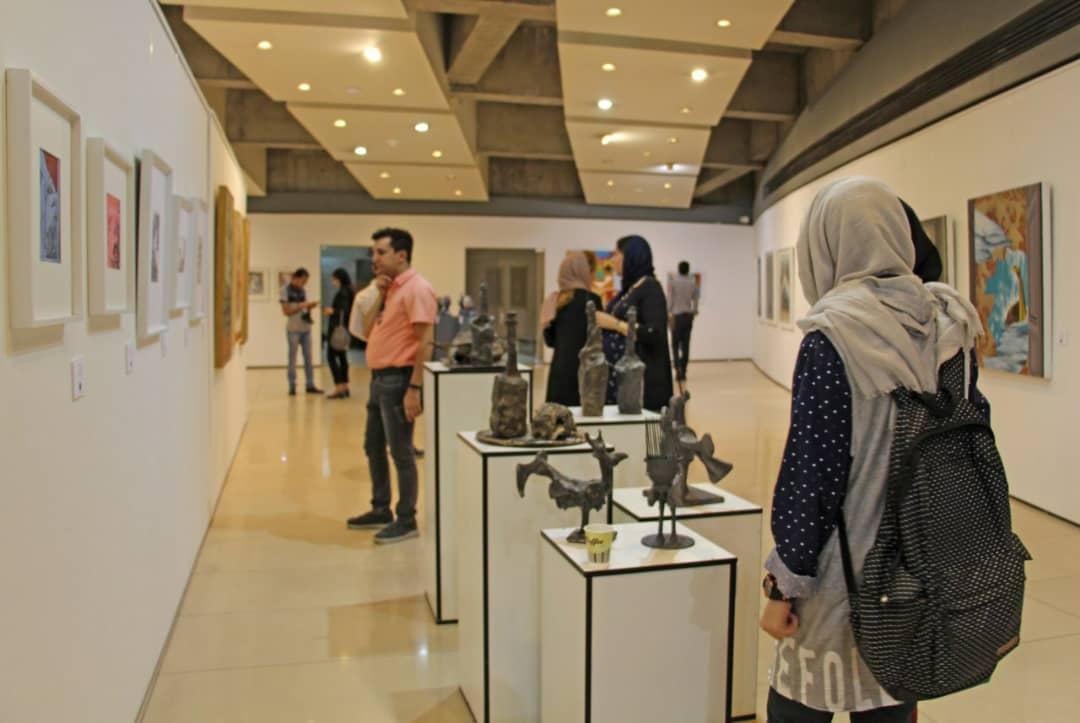 """گزارش تصویری نمایشگاه """"صور خیال ٣"""" در گالری پردیس ملت"""