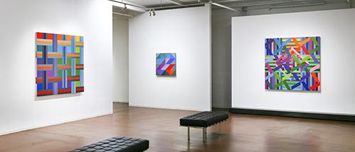 گزارش تصویری نمایشگاه آثار اندرو هافمن در گالری دیوید ریچارد