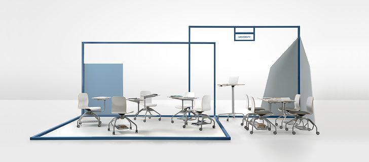 خلاقیت در طراحی صندلی و میز تحریر