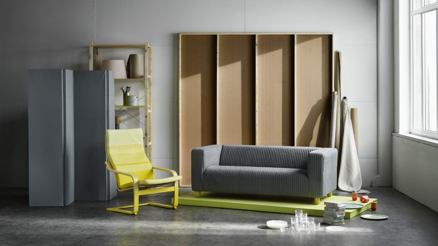 بازطراحی دو مدل از محبوبترین مبلمان IKEA با روندی جدید
