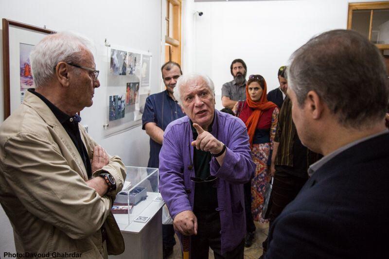 گزارش تصویری بازدید مدیرعامل و اعضا موسسه هنرمندان پیشکسوت از برنامه مثل یک قصه در باغ موزه هنر ایرانی