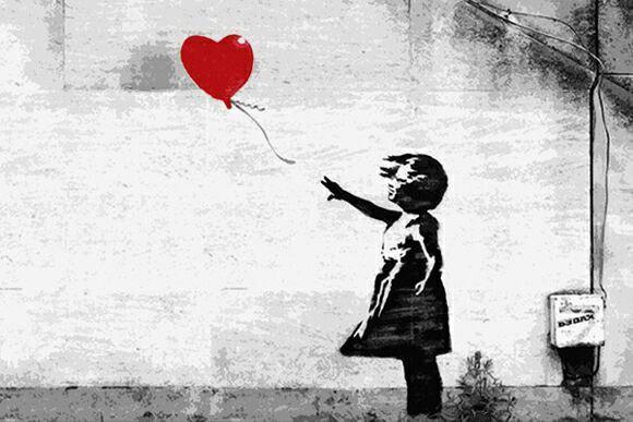 نگاهی بر آثار Banksy هنرمند گرافیتی