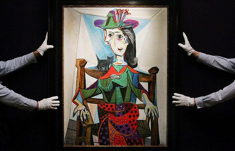 گرانترین آثار نقاشان بنامِ جهانی در حراجهای هنری