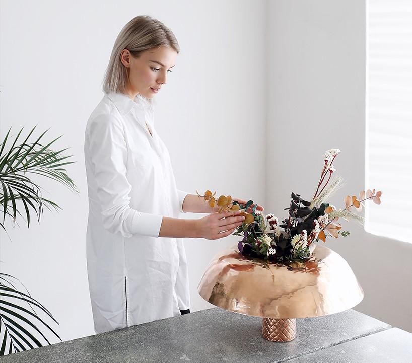 گلدانی به نام floret