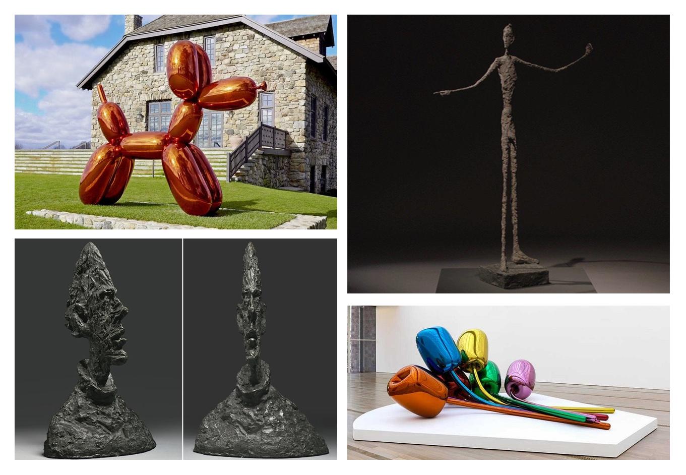 نگاهی به گرانترین مجسمههای فروخته شده در عالم هنر