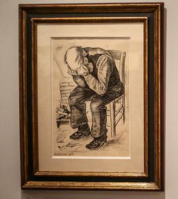 بازگشت اثر ونگوگ به گنجینه موزه پس از پایان نمایشگاه هلند