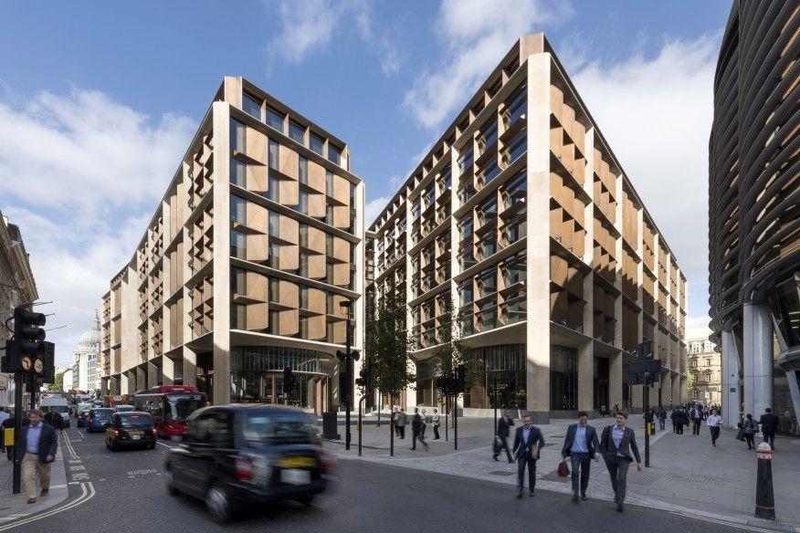 ساختمان بلومبرگ برنده جایزه معماری استرلینگ 2018