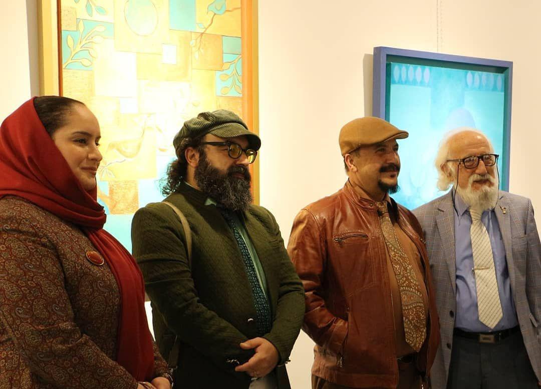 گزارش تصویری نمایشگاه آثار فرزانه محجوبی در خانه فرهنگ و هنر گویا