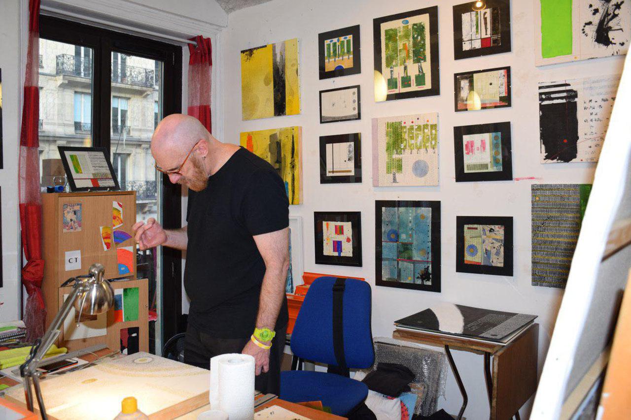 گزارش تصویری مرکز فرهنگی 59 rivoli در پاریس