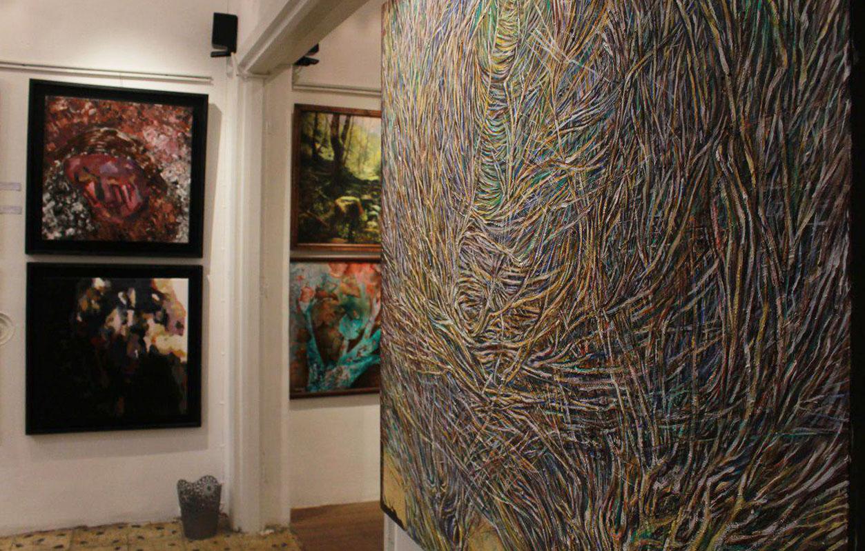 """گزارش تصویری نمایشگاه """"یادها"""" در گالری زرنا"""