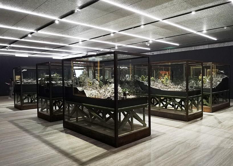 """نمایش """"جهنم لعنتی"""" در نمایشگاه baroquesanguine در موزه گالری fondazione prada"""