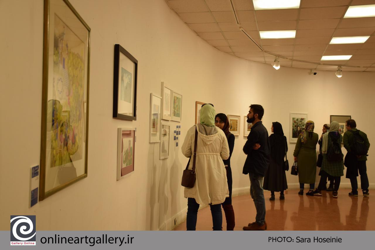گزارش تصویری نمایشگاه هفته تصویرگری ۹۷ (بخش پنجم)