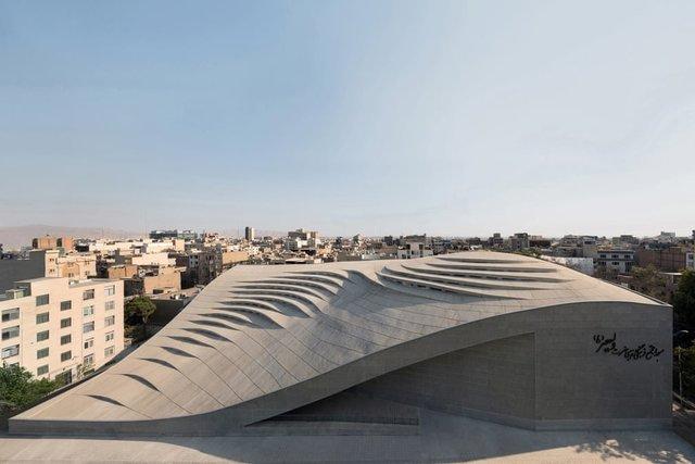 مسجد ولیعصر (عج) نامزد جشنواره جهانی معماری شد