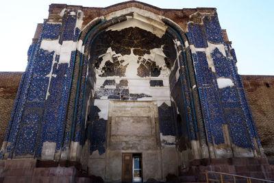 نگاهی بر مرمت مسجد کبود تبریز