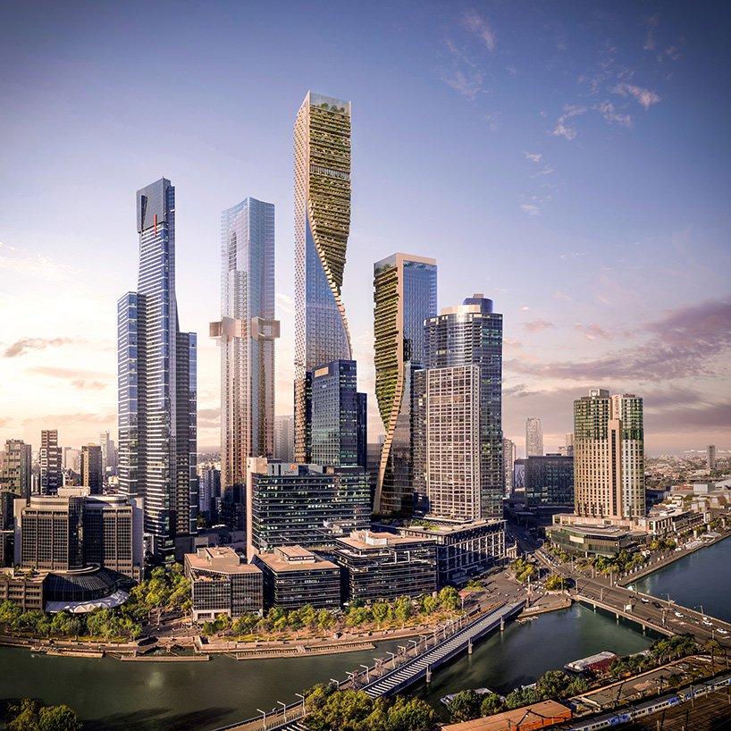انتخاب UNStudio برای ساخت بلندترین آسمانخراش استرالیا