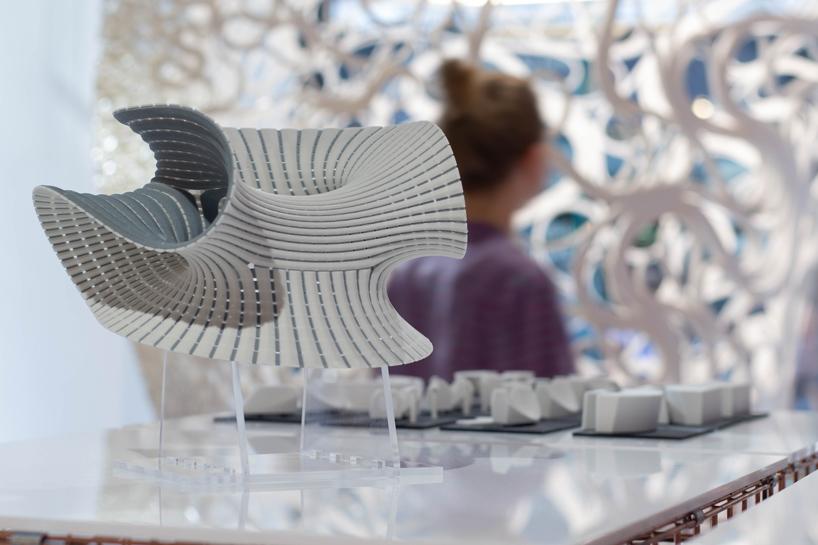 نمایش تکنولوژی های طراحی دیجیتال در لندن توسط دفتر معماری زاها حدید (ZHCODE)