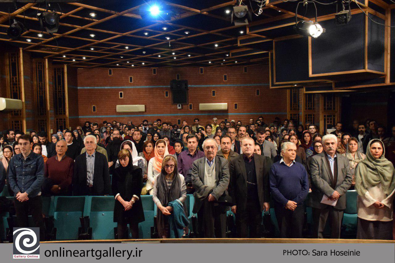 گزارش تصویری مراسم سیزدهمین سالگرد مرتضی ممیز در خانه هنرمندان ایران