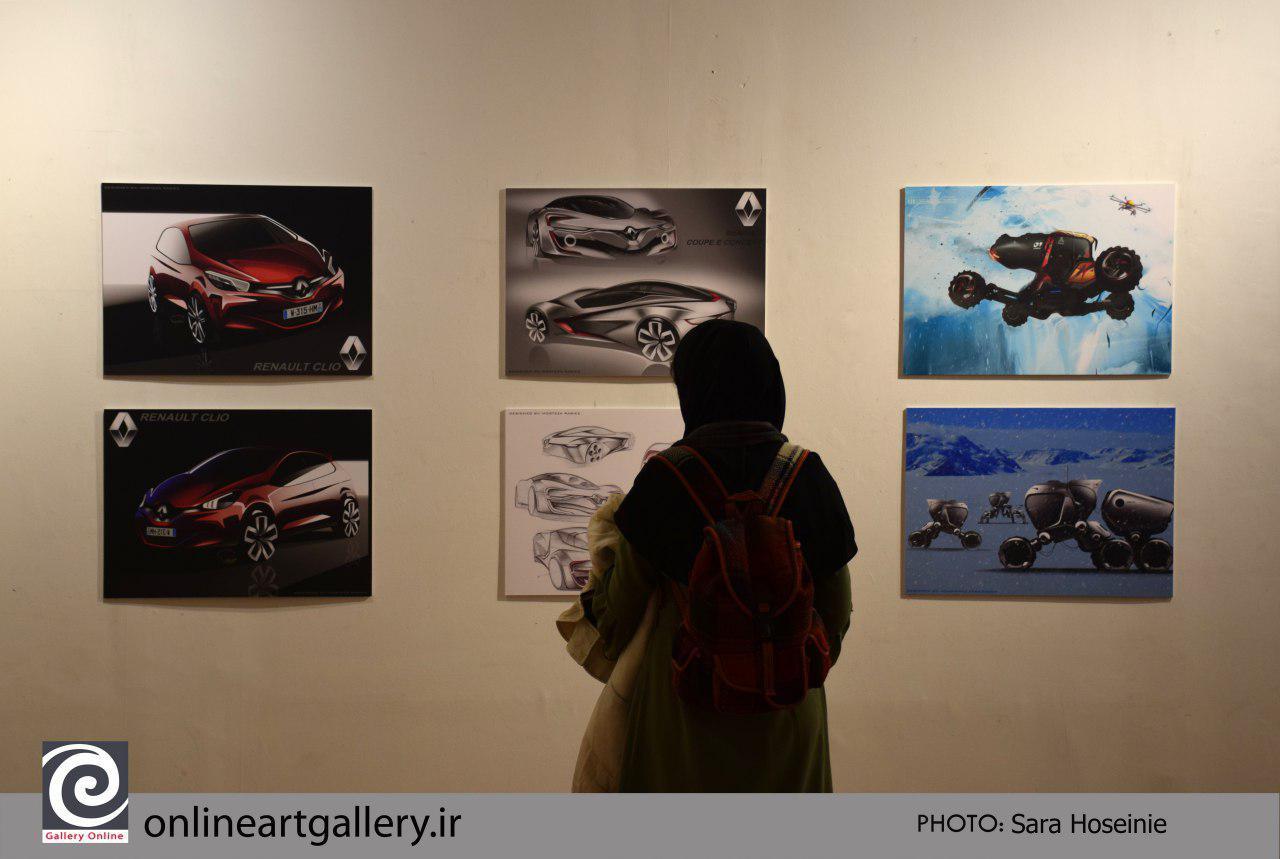 """گزارش تصویری نمایشگاه """"تصور تا واقعیت 3"""" در خانه هنرمندان (بخش دوم)"""