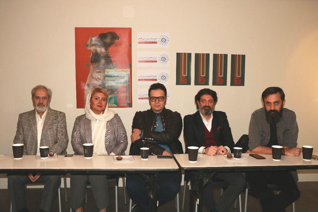 نمایش آثار هنرمندان جوان در کنار پیشکسوتان بینالمللی هنر ایران