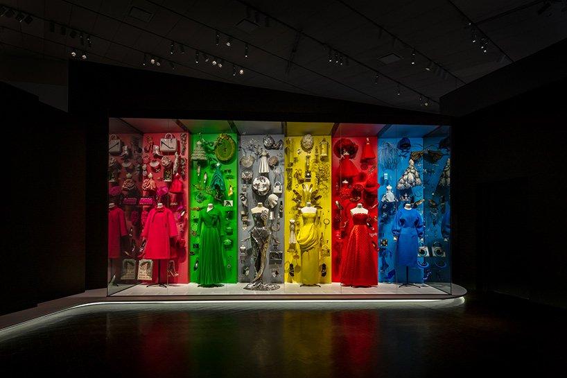 نمایشی از تاریخچه برند Dior در موزه هنری Denver