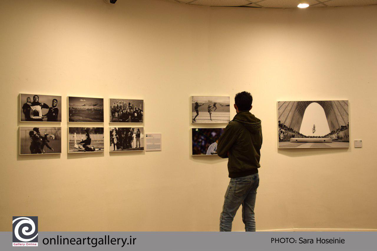 گزارش تصویری آثار انجمن صنفی عکاسان مطبوعاتی ایران در هفتمین دوره ۱۰ روز با عکاسان
