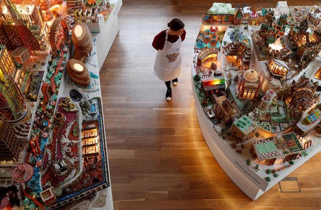 معماران در پی ساخت شهری از شیرینی