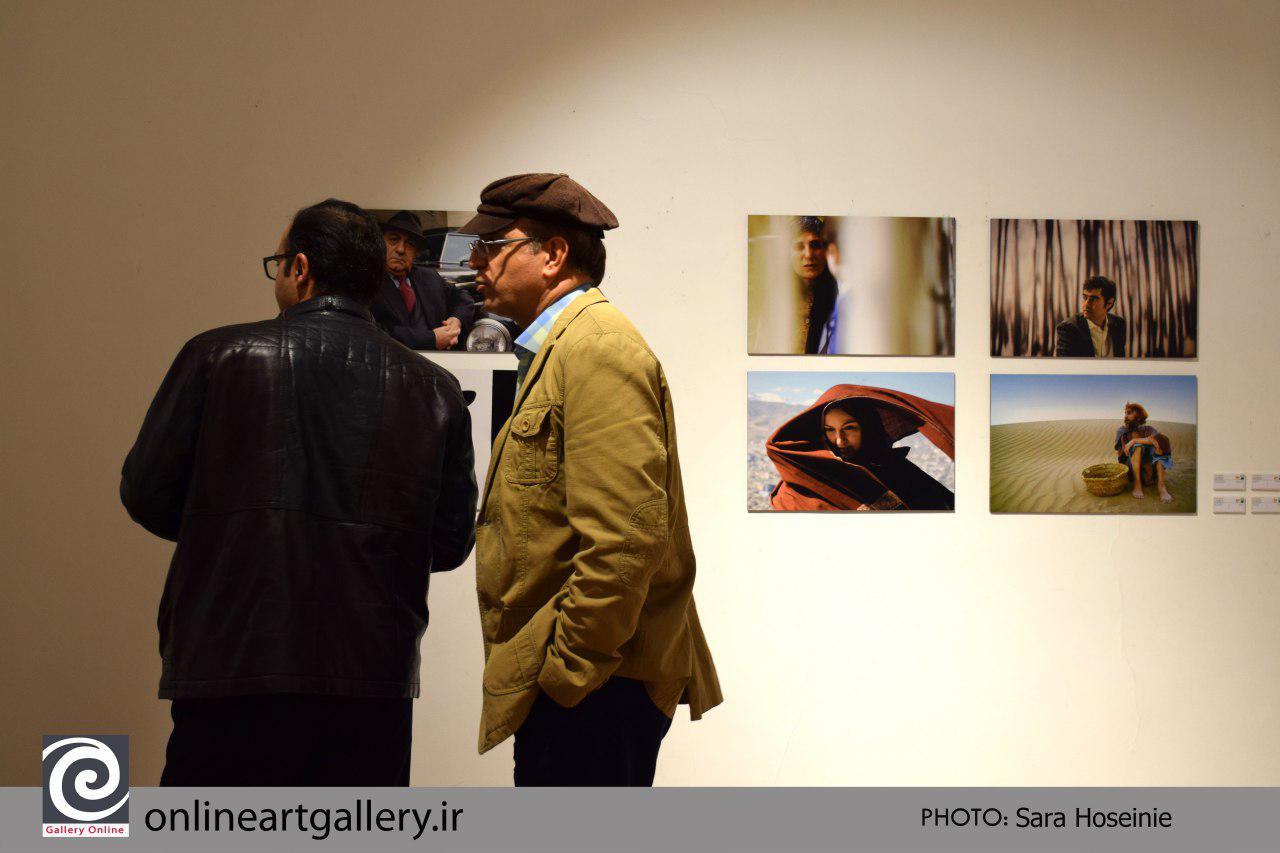 گزارش تصویری آثار اعضای انجمن عکاسان سینمای ایران در هفتمین دوره ۱۰ روز با عکاسان
