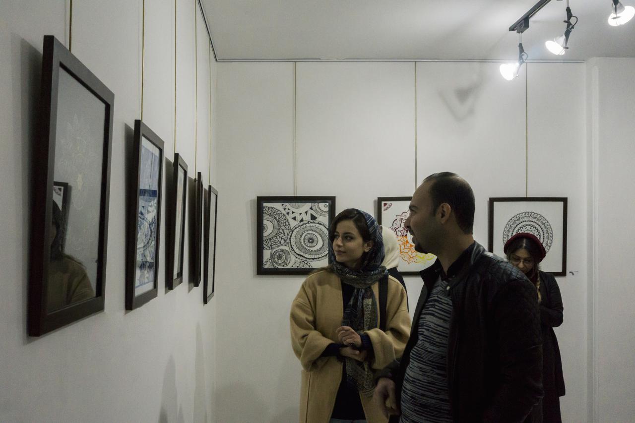 """روایت امین شاه کرم از برگزاری نمایشگاه """"ماندالا"""""""