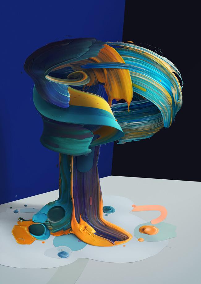 تایپوگرافی های سه بعدی در آثار Pawel Nolbert