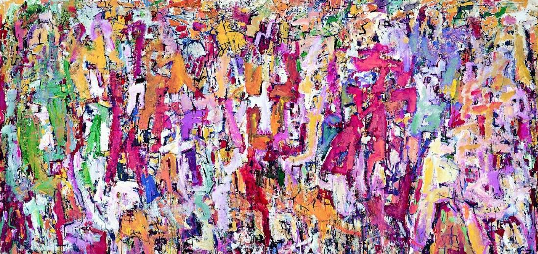 نگاهی بر آثار انتزاعی George Chann در گالری Tina Keng